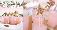 Top your drinks with these sequined star stirrers. | 51 DIY Ways To Throw The Best New Year's Party Ever