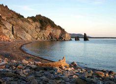 Coastline of Cape Breton Island, Nova Scotia - vacationed here as a kid. I love the raw, natural beauty of this island. Beautiful World, Beautiful Places, Acadie, East Coast Road Trip, Enchanted Island, Atlantic Canada, English Country Gardens, Cape Breton, Travel Tours