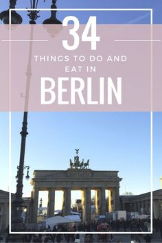 Travel to Berlin, Germany. It's the most amazing city! Full of street art, cool style, food, old architecture and history. There are a million things to do in Berlin, but we only had three days to explore. I've included top things to do in Berlin with a full itinerary and map in this post. Being in Berlin during the winter was such a fun experience! We celebrated New Years there and had the best time.