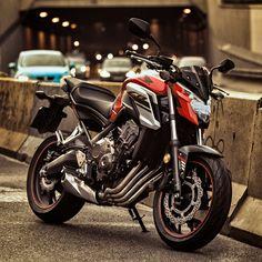 CB 650 in the city by Dominik Kotowski on Cb 650f, Bike Pic, Moto Bike, Honda Cb, Super Bikes, City, Vehicles, Hornet, Academia