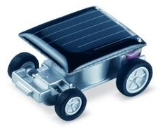 Mini Solar Car. World's smallest car on Solar Energy