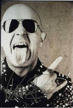 Rob Halford of Judas Priest #metal