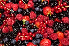 Berries contain phytochemicals and flavonoids that may help to prevent some forms of cancer. Cranberries and blueberries contain a substance that may prevent bladder infections. Eating a diet rich in blackberries, blueberries, raspberries, cranberries and strawberries may help to reduce your risk of several types of cancers. Blueberries and raspberries also contain lutein, which is important for healthy vision. #berries #health #anthocyanin #juice #blackcurrant