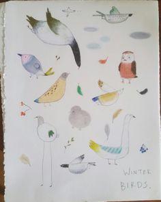 Winter birds.
