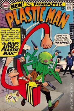 PLASTIC MAN 2, SILVER AGE DC COMICS