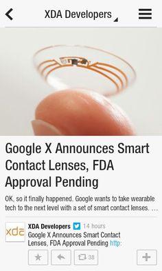 google contact lenses