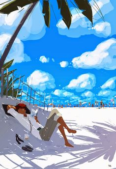 Life's a beach sometimes -- Pascal Campion