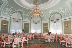 Sharon & Justin's Regal Wedding: Fairmont Hotel Macdonald, Special Event Rentals
