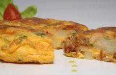 Tortilha de Alheira - Alheira Patatoe Pie Portuguese Food, Portuguese Recipes, Chicken, Meat, Morning Coffee, Snacks, Gourmet, Ideas, Meals