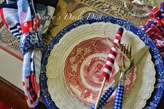 Nancy's Daily Dish: The American Flag