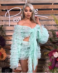 Birthday Outfit Ideas | Nique's Beauty Homecoming Outfits, Cheap Online Clothing Stores, Beautiful Prom Dresses, Dress Suits, Summer Dresses For Women, Tulle Dress, Cheap Dresses, Skirt Set, Outfit Ideas