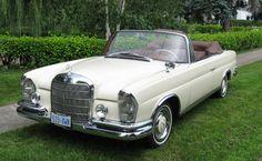 1963 Mercedes Benz 220SE Cabrio