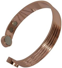 SUPER STRENGTH COPPER MAGNETIC BRACELET FOR MEN OR WOMEN - Arthritis Aid, Pain Relief. Earth Therapy Jewelry Magnet Cuff Bangle Earth Therapy http://www.amazon.com/dp/B00QH8298U/ref=cm_sw_r_pi_dp_v.m2ub1CRWJSM