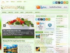 DietingMag Free WordPress Theme
