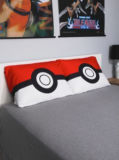 Pokemon Poke Ball Pillowcase Set from Hot Topic. Shop more products from Hot Topic on Wanelo.