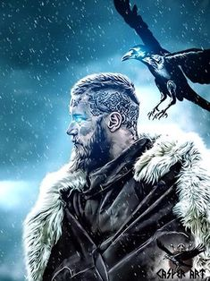 Ragnar a descendant of Oden.