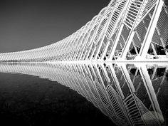 Athens Olympic Sports Complex by Santiago Calatrava
