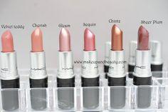 mac lipstick swatches 9 All MAC Lipsticks Photos and Swatches
