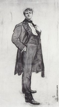 Серов В. А. Портрет Ф.И. Шаляпина