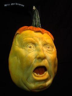 Amazing pumpkin carvings by Famous Pumpkin Carver Jon Neill