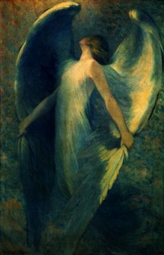 William Baxter Closson (1848-1926) - Angel