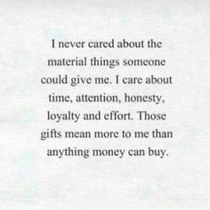 Reposting @jmaniworld: I never care about the material things someone could give to me.. I care about time, attention, honesty, loyalty and effort.. Those gifts mean more to me than anything money can buy.. Be honest, don't they? . . . . . . . . . . . . . . . . #love #honest #honesty #gospeltalk #respect #effort #loyal #loyalty #integrity #time #attention #money #relationship #relationshipgoals #relationshipquotes #godlydating #knowledge #wisdom #motivation #jmaniworld #life #lifecoach…
