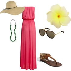 Outfit for summer. No hat though.