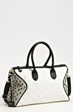POVERTY FLATS by rian Studded Satchel available at #Nordstrom