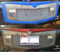 We don't just restore headlights...  (Cadillac CTS Trunk Lights) Headlight Restoration, Lone Star State, Cadillac Cts, Jukebox, Restore, Trunks, Lights, Drift Wood, Tree Trunks