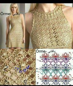 Crochet Dress from Diane von Furstenberg