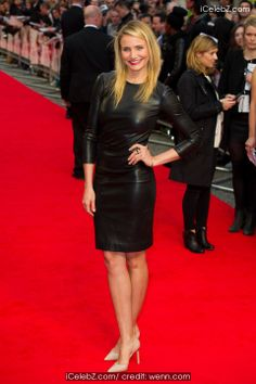 UK premiere of 'The Other Woman' held at The Curzon Mayfair pictures Events Uk, Celebrity Red Carpet, Other Woman, Leather Skirt, Photo Galleries, Celebrities, Cameron Diaz, Skirts, Pictures