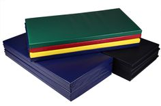 Our Folding Mats are perfect for practicing gymnastics, tumbling, and even martial arts! Easy to move from home cheer practice to outdoor cheer practice and anywhere else! from FoamTiles.com