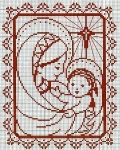 Maria con Gesu'