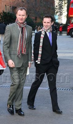 Mark Gatiss and Ian Hallard.