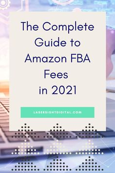 Let us help you with this guide to Amazon FBA Fees in 2021. Amazon Advertising, amazon selling, fba amazon, amazon selling fba #amazonsellingfba #fbaamazonseller #amazonselling Earn Money Online Fast, Earn Money From Home, Retail Arbitrage, Amazon Fba Business, Amazon Advertising, Amazon Seller, Sell On Amazon, Passive Income, Extra Money
