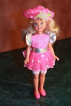 Barbie Skipper Vintage Pink 80's Dress Hat | eBay