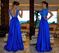 Image may contain: 2 people Blue Evening Dresses, Evening Dresses For Weddings, Evening Outfits, Prom Dresses Blue, Mermaid Prom Dresses, Bridesmaid Dresses, Formal Dresses, Homecoming Outfits, Pretty Quinceanera Dresses