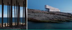 Fogo Island Inn, Newfoundland. Helicopter over from Gander. I could live here, and the architect designs artist studios.