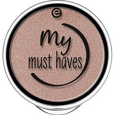 Essence My Must Haves Eyeshadow Single Color:08 Peach-Party!08 Peach-Party!