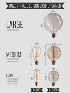 Onze vintage Edison gloeilampen. Kies de mooiste uit en ontwerp je eigen DEEF. http://www.deeflighting.com/