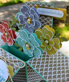 Canopy Crafts: Flowers in a Box, for Mom