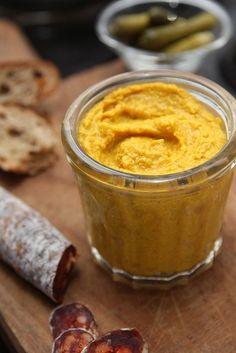 How to Make Homemade Mustard  #homemade
