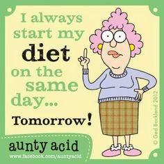 Same day diet