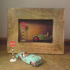 Framed photos of our vintage collectables by Kettle of Fish