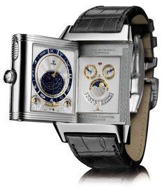 Estação Cronográfica: Relógios Hybris Mechanica - trio de peso da Jaeger-LeCoultre