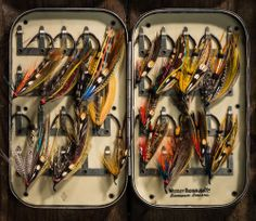 Westley Richards & Co. Fly Box and Flies Source:The Explora