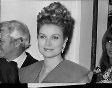 Vintage foto de retrato de imagen de la princesa Grace de Mónaco, tomado en conjunct