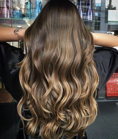 ombre hair color ideas for blonde brown black balayage h Cabelo Ombre Hair, Blonde Ombre Hair, Brown Ombre Hair, Brown Hair Balayage, Ombre Hair Color, Light Brown Hair, Hair Color Balayage, Brunette Hair, Hair Highlights