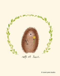 Soft at Heart by sarahjanestudios on Etsy