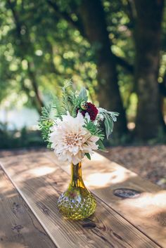 Vintage Bottles & a Romantic Palette  From SF With Love Photography